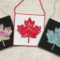 Canvas Work Bargello Canadian Flag