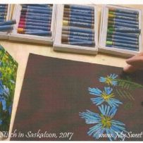 """Sketch to Stitch"" taught by Monika Kinner-Whalen June 3rd and 4th, 2017"